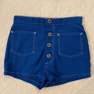 {VTG} White Stag Girls Royal Blue Shorts